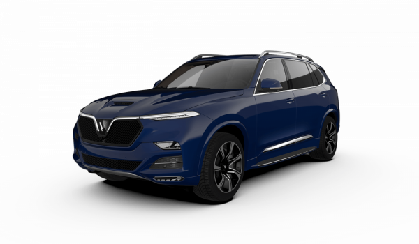 Hinh Anh Gia Xe Suv Vinfast President Mau Xanh Duong Luxury Blue (1)